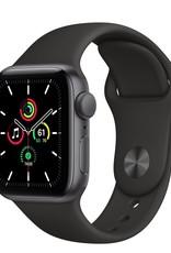 Apple Apple Watch SE 40mm Space Gray Alu Black Sport Band