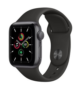Apple Apple Watch SE 40mm Space Gray Alu Black Sport Band
