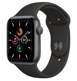 Apple Apple Watch SE 44mm Space Gray Alu Black Sport Band