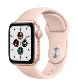 Apple Apple Watch SE 40mm Gold Alu Pink Sand Sport Band