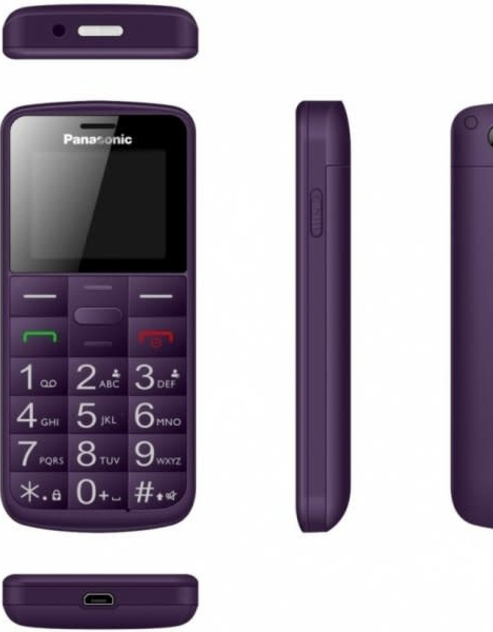 Panasonic KX-TU 110 EXV Purple
