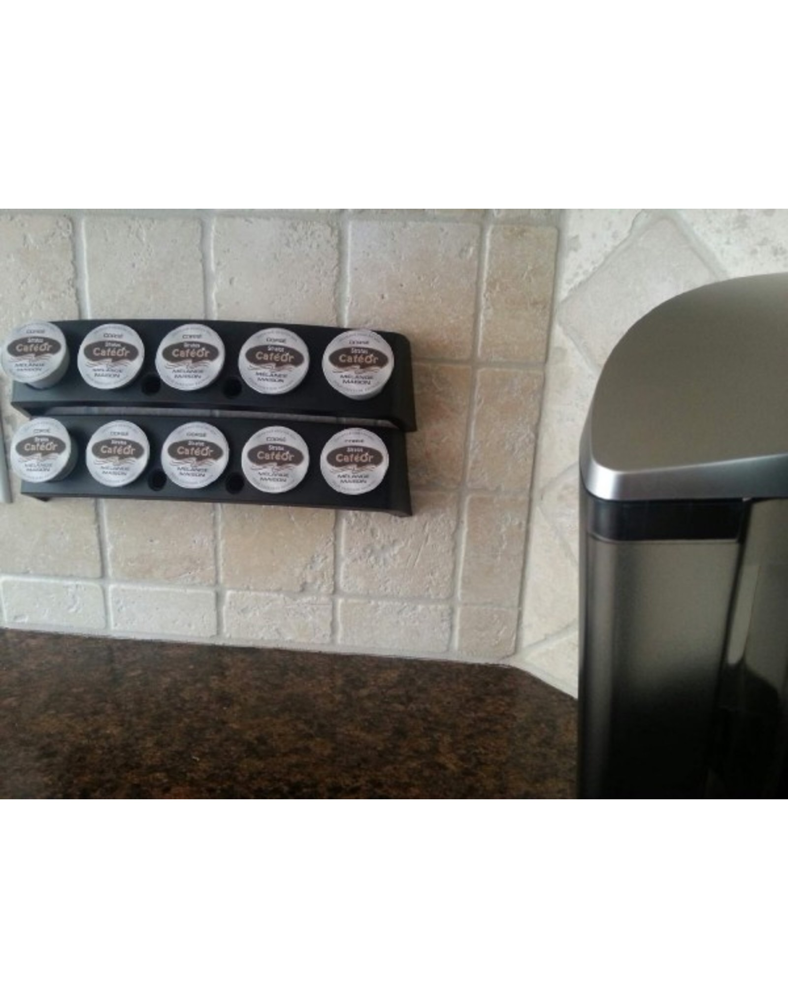 RACK FOR POD FILTERS (K-cup compatible)