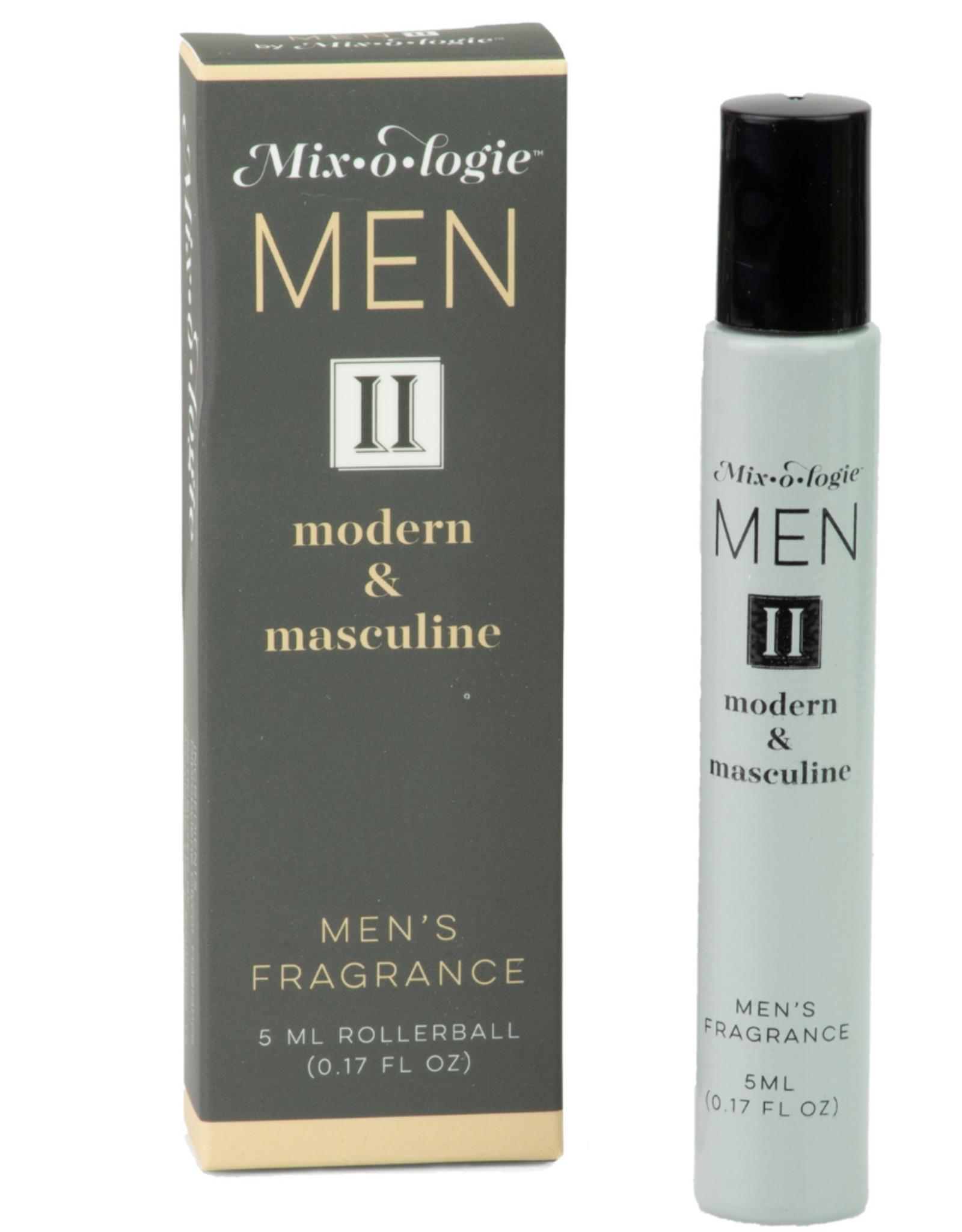 Mixologie Modern & Masculine Natural Rollerball Fragrance (Men II)