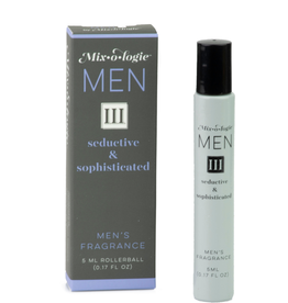 Mixologie Seductive & Sophisticated Natural Rollerball Fragrance (Men III)