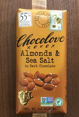Chocolove Almonds & Sea Salt Dark Chocolate Bar