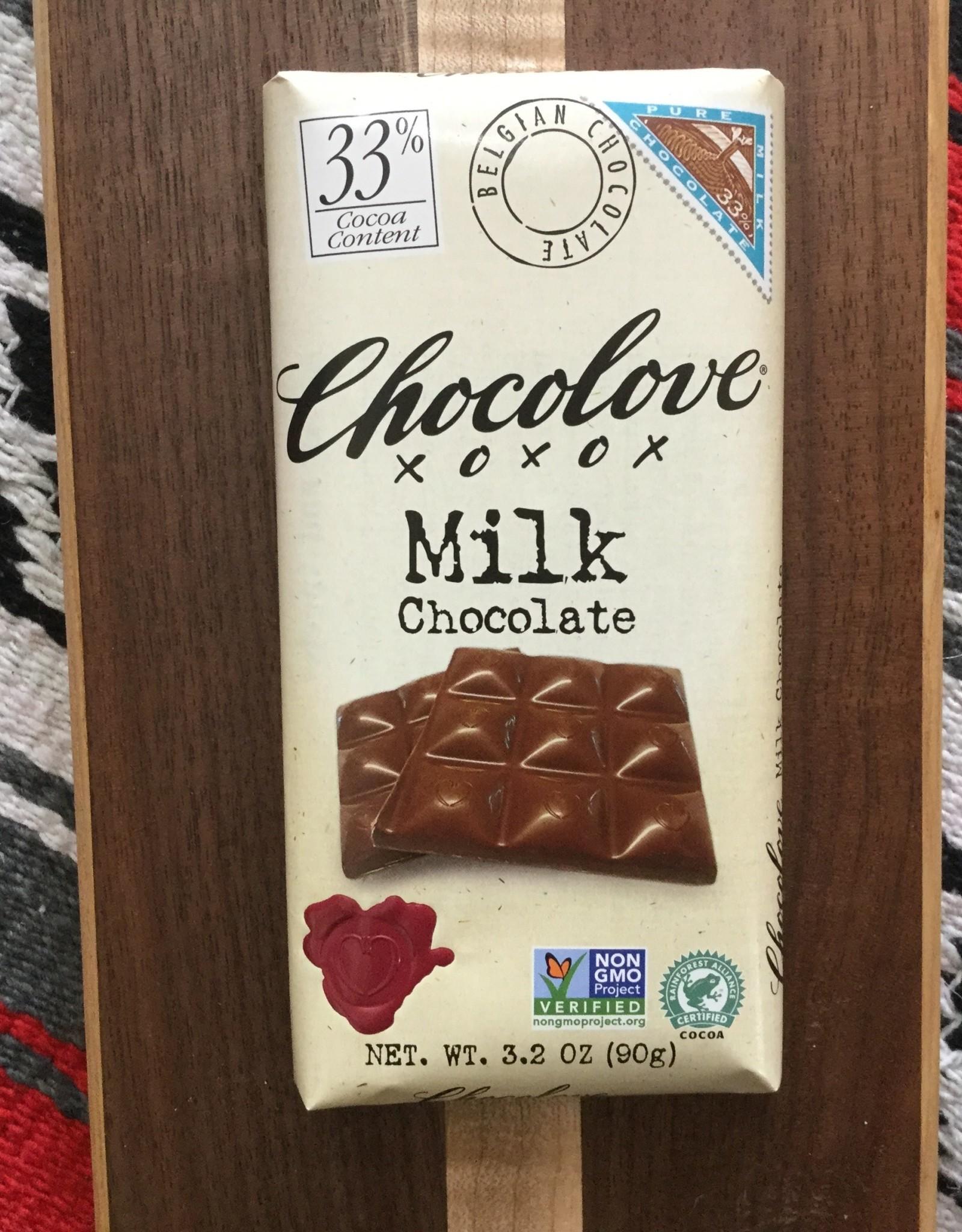 Chocolove Pure Milk Chocolate Bar 3.2 oz