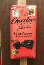 Chocolove Strawberry Dark Chocolate Bar