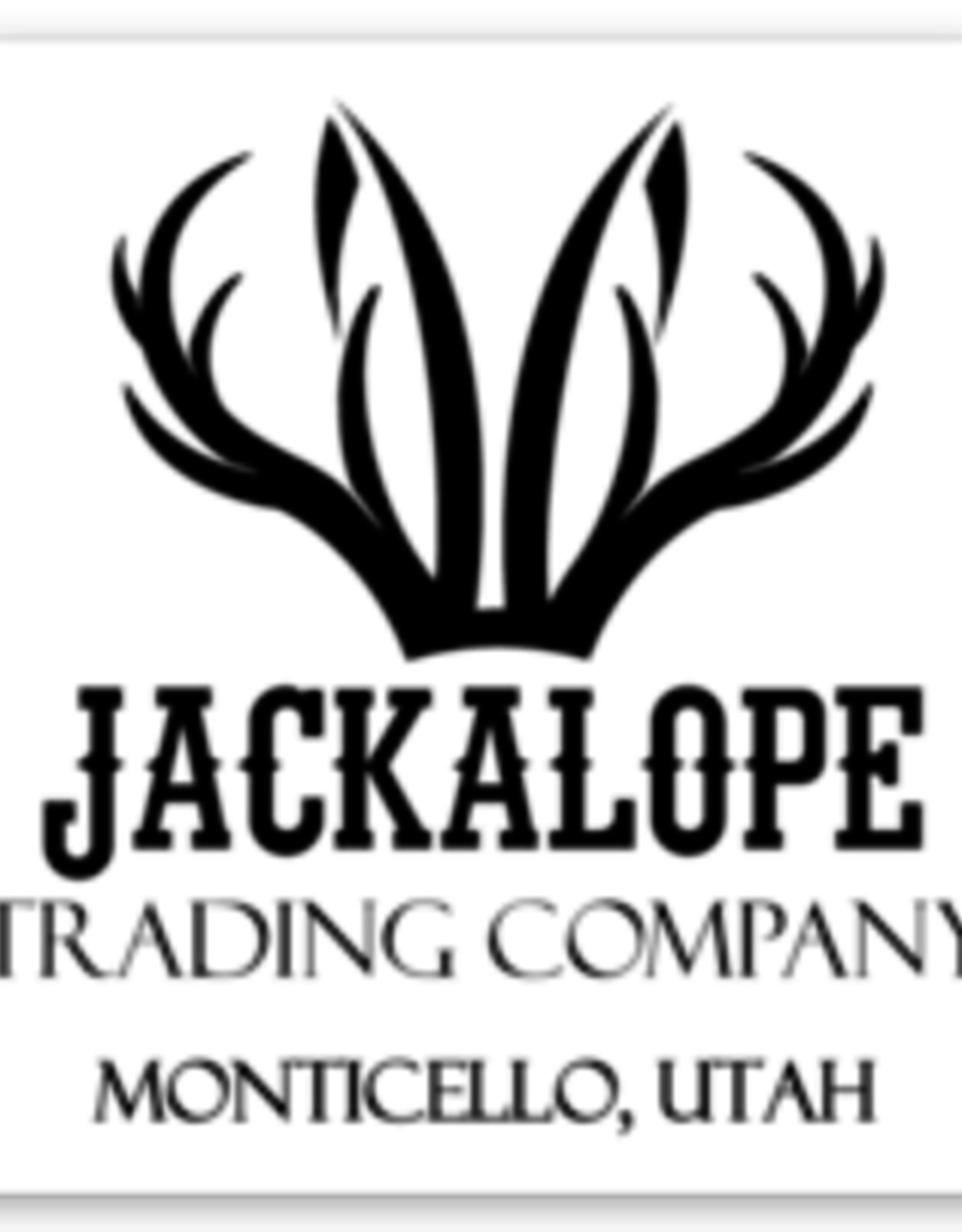 Jackalope Logo Stickers, small square