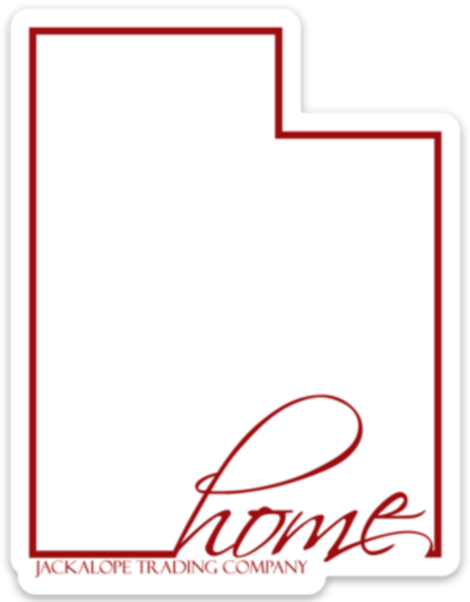 Utah Home Jackalope Stickers