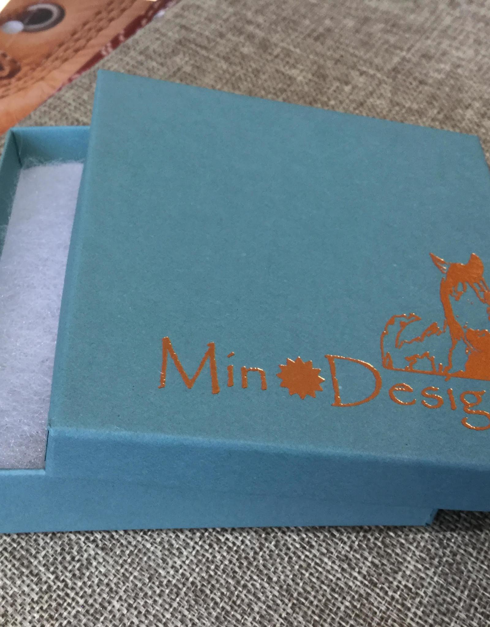 Min*Designs Amethyst 4mm Sterling Post Earrings MR-493