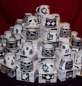 Treasure Chest Mugs Mug, Southwest Mimbres style