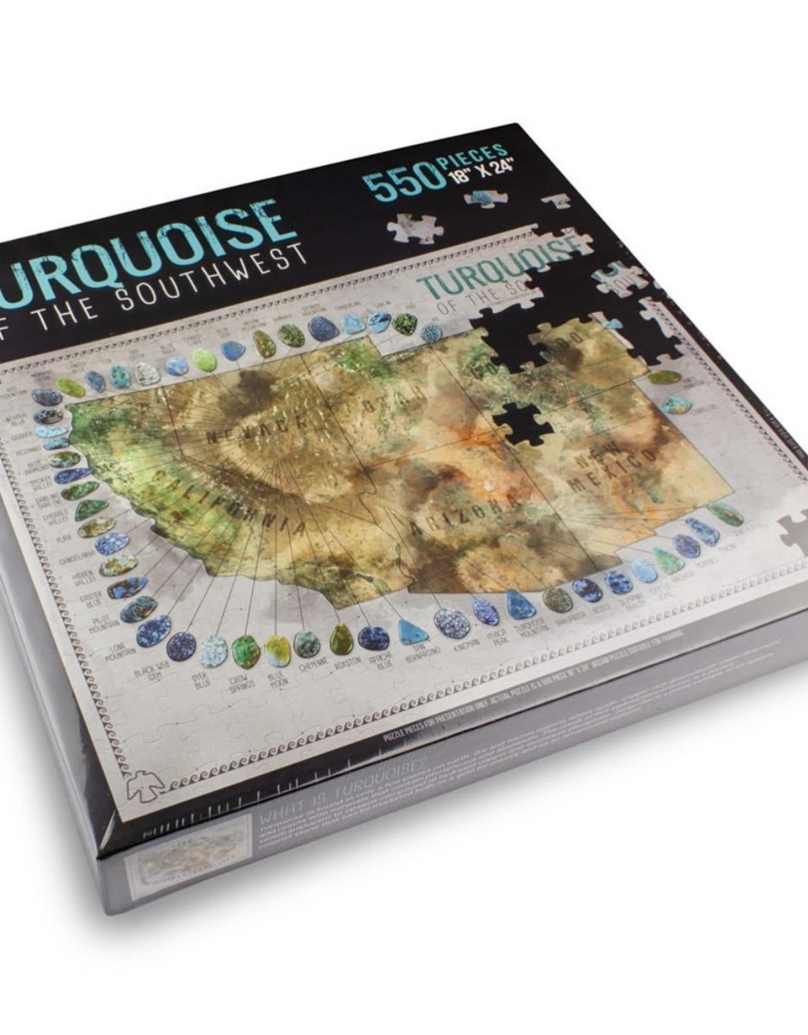 Puzzle, Turquoise of the Southwest