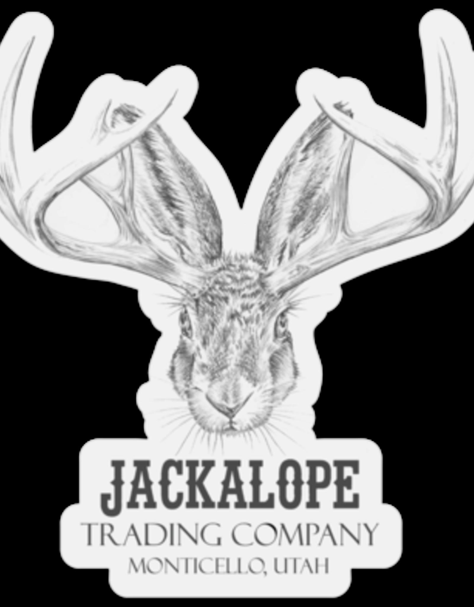 Jackalope Head Stickers