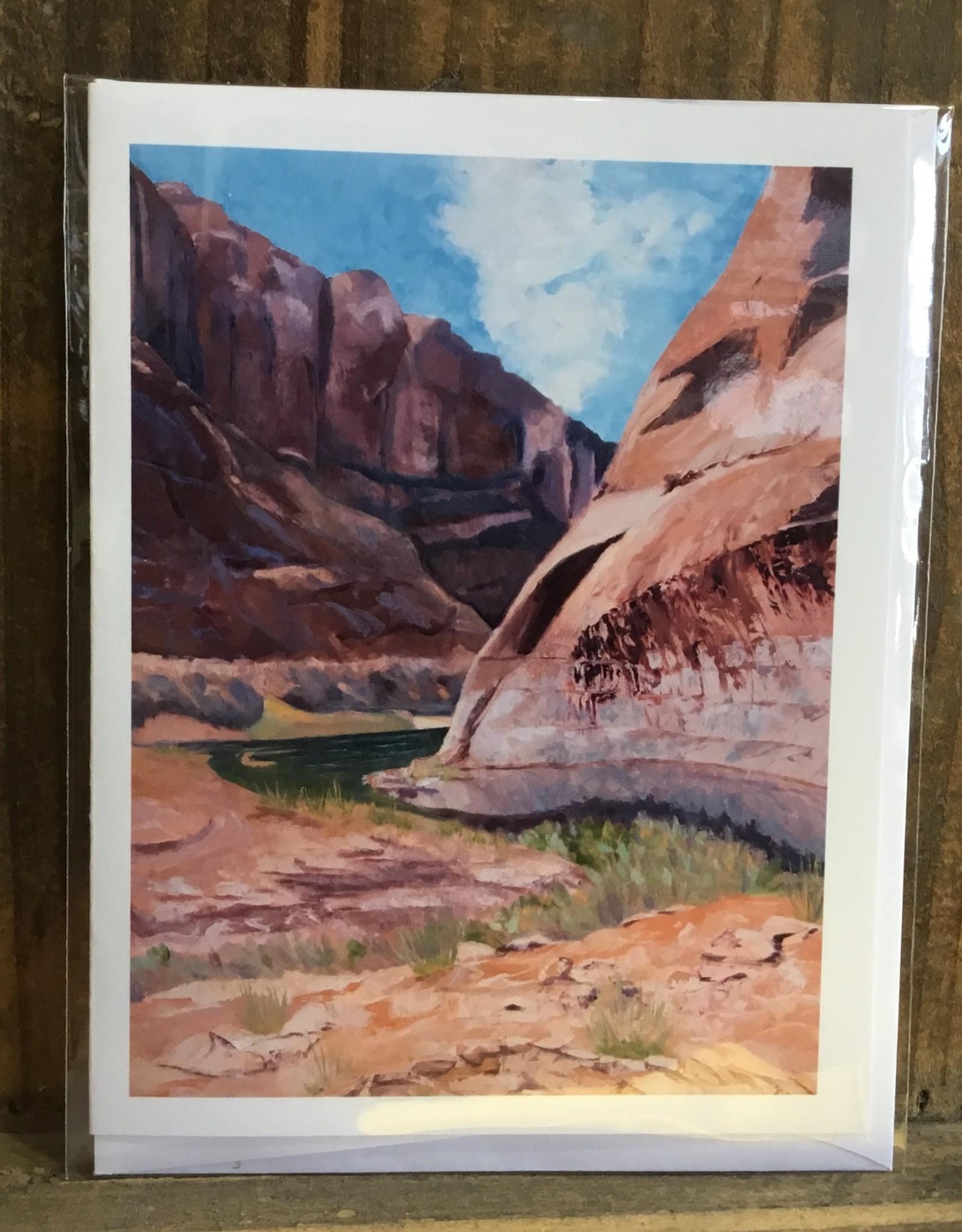 Forgotten/Desert Varnish Note Card