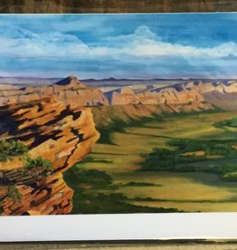 Tseyikaan Escarpment Comb Ridge Note Card