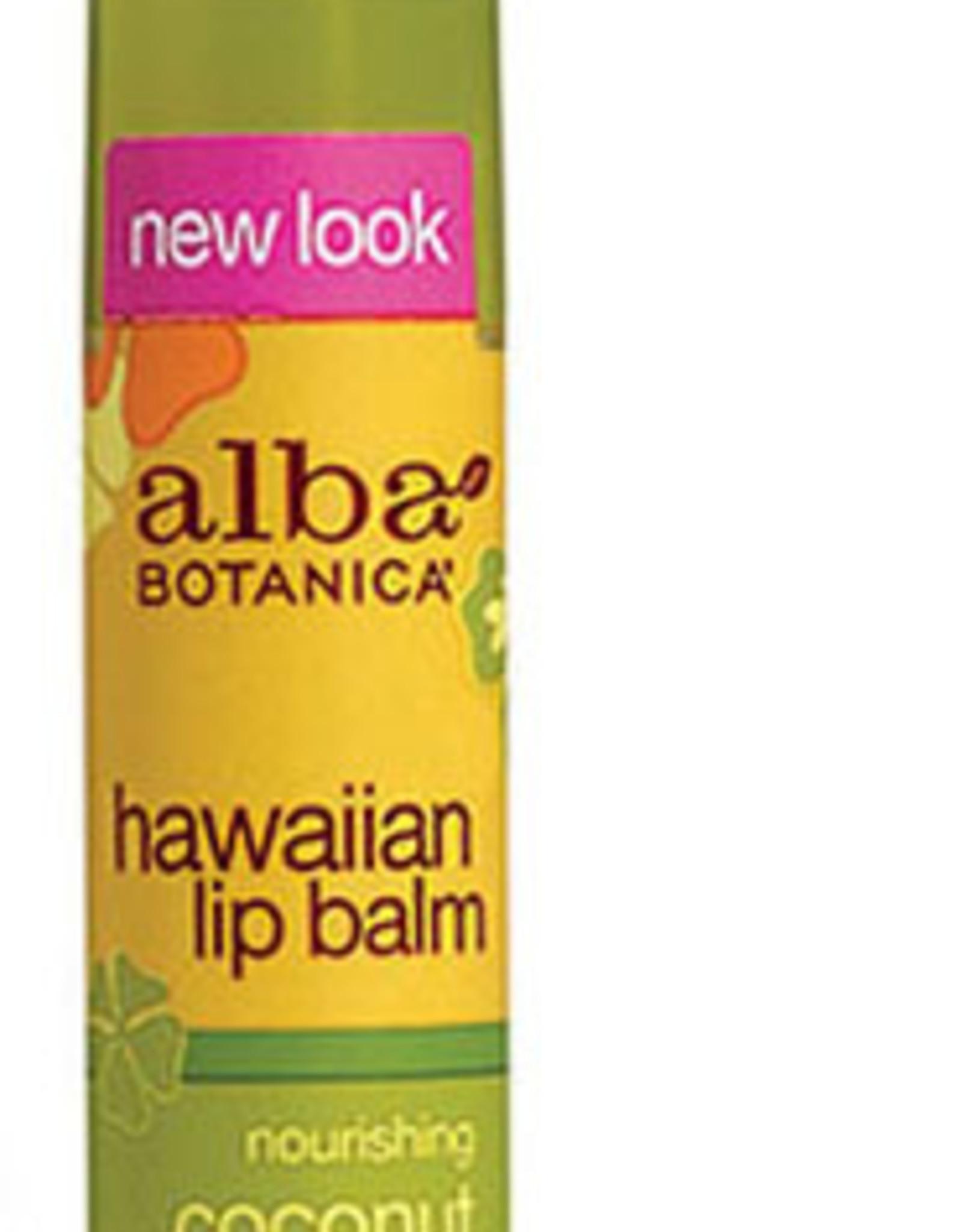 Alba Botanica Coconut Cream Lip Balm