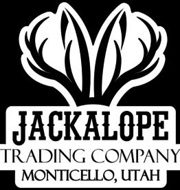 Jackalope Large Logo Bumper Stickers