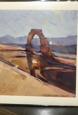Delicate Arch Canvas Giclee Print, no mat