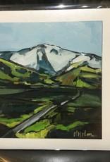 Horse Head Canvas Giclee Print, no mat
