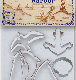 Lighthouse Harbor Cookie Cutter Set/6