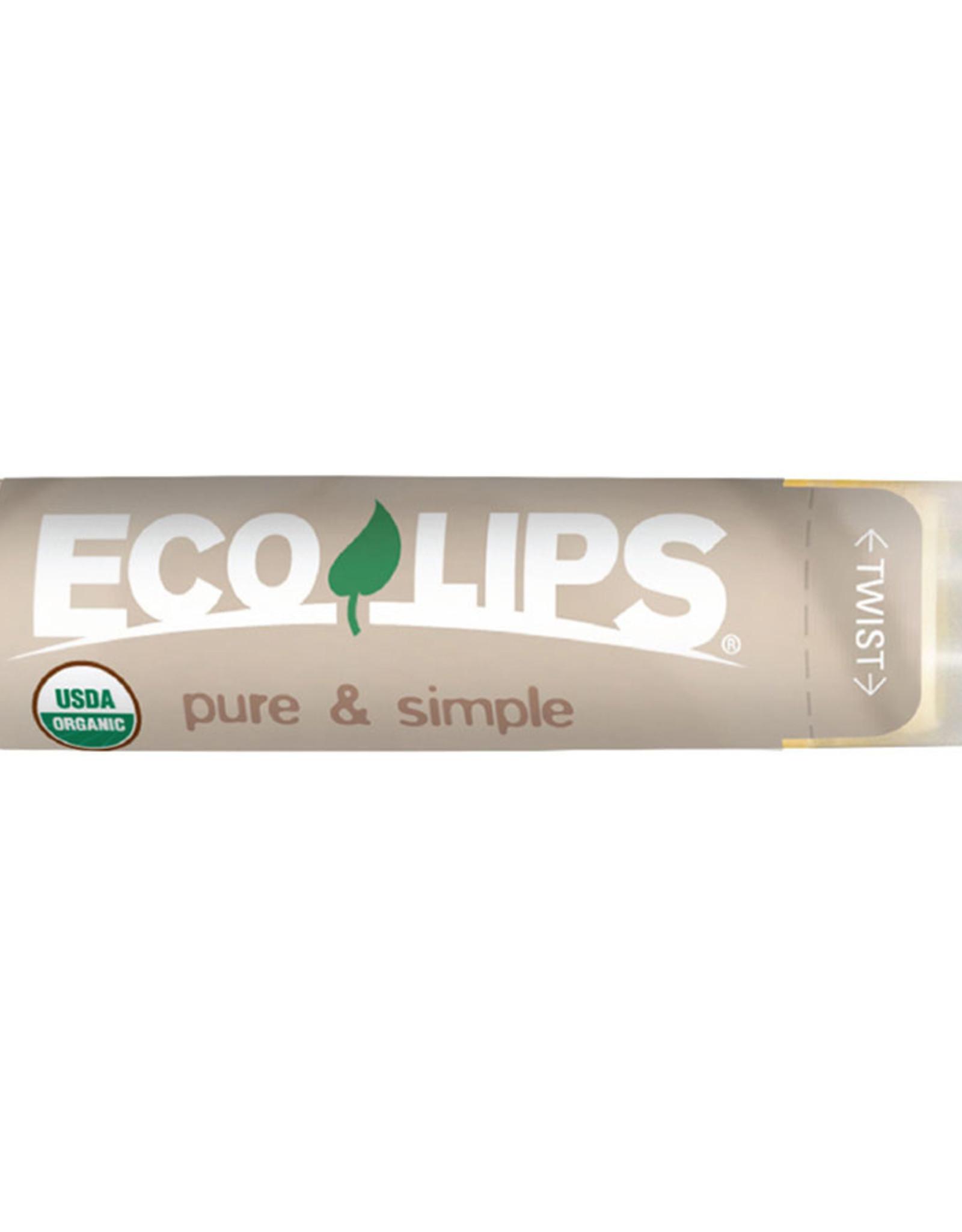 EcoLips Coconut Pure & Simple Lip Balm