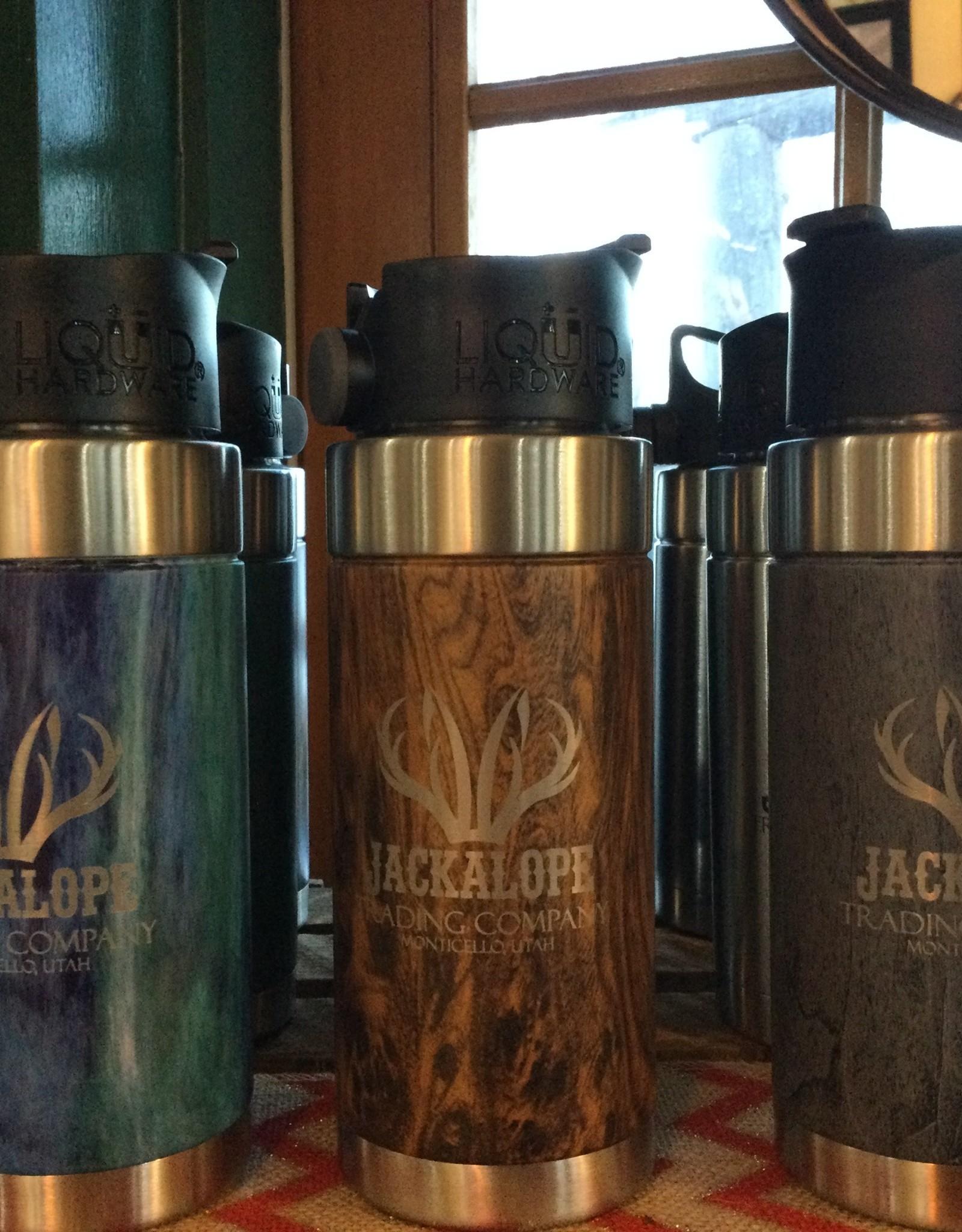 Liquid Hardware Jackalope Aurora Coffee Mug, 16 oz.