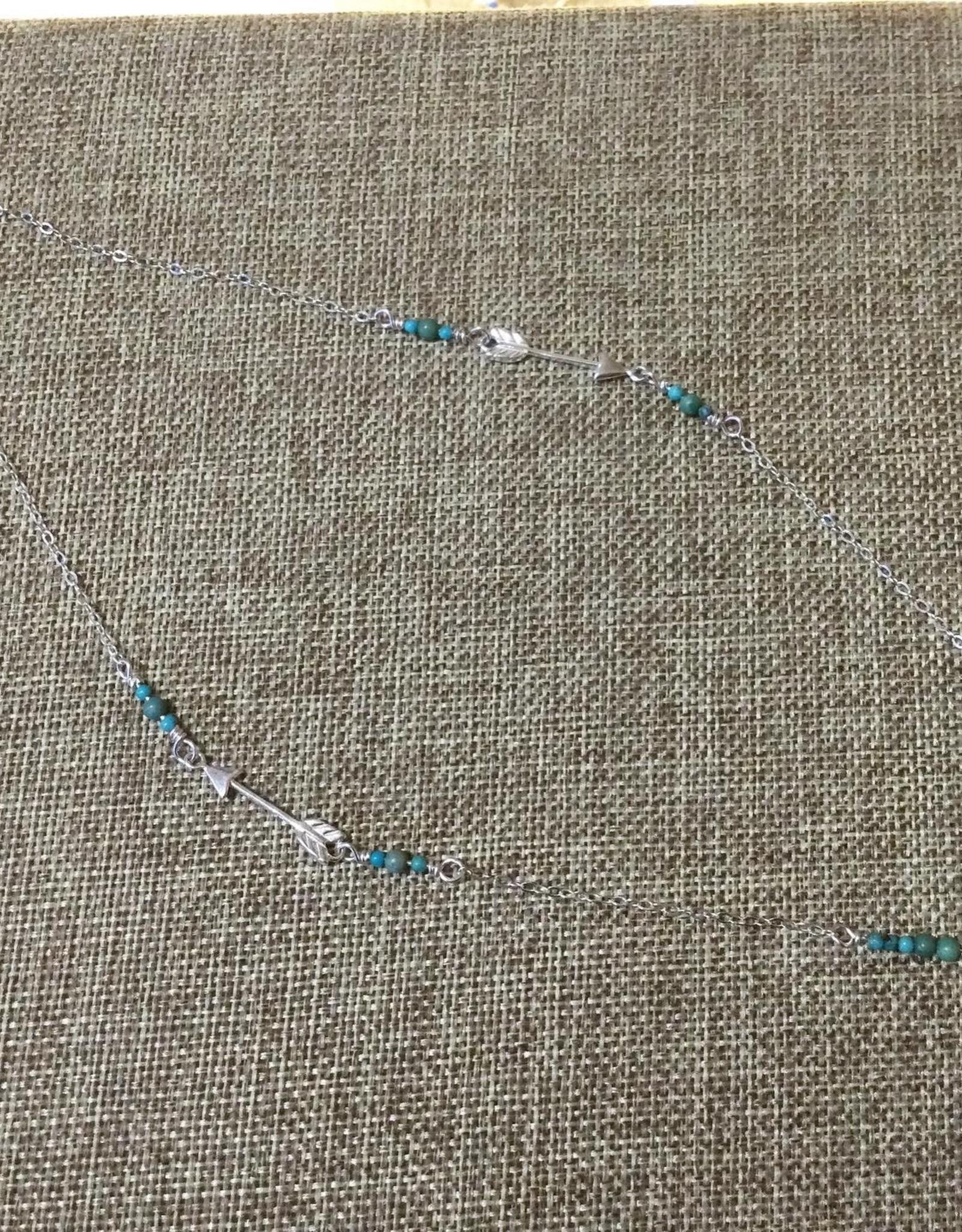Min*Designs Sterling Triple Arrow Chain MR-712
