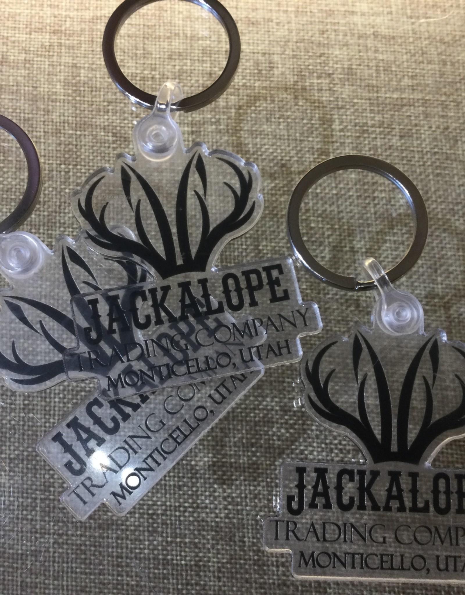 Sticker Mule Jackalope Keychain