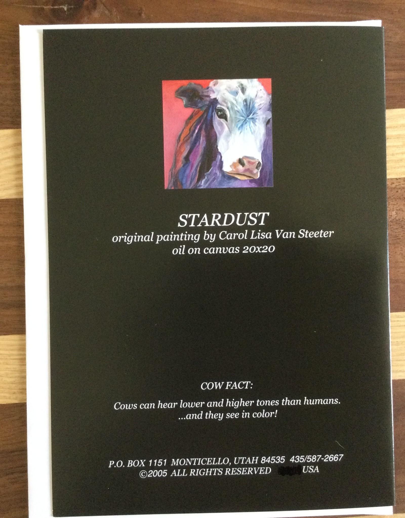 Stardust Note Card cvs