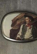 Joeyfivecents Buckle, Vintage Wild West