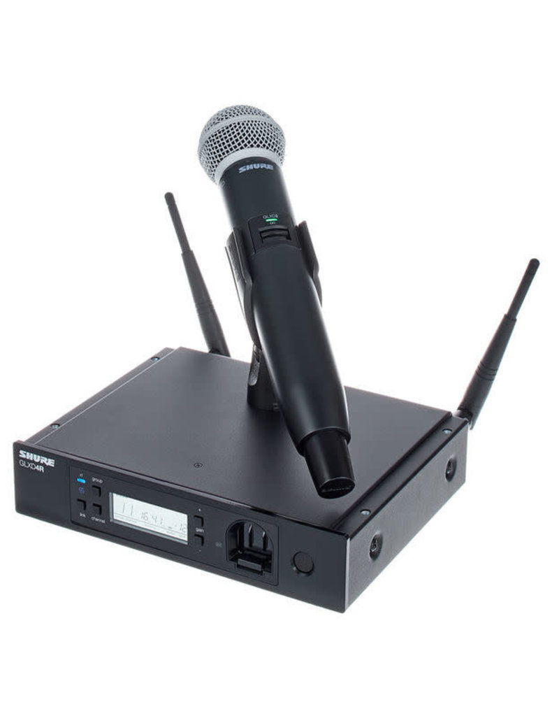 Shure GLX-D® Advanced Digital Wireless Microphone with SM58 Vocal Mic
