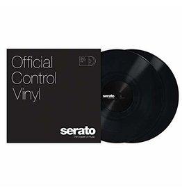 """12"""" Black Serato Control Vinyl  (Pair)"""