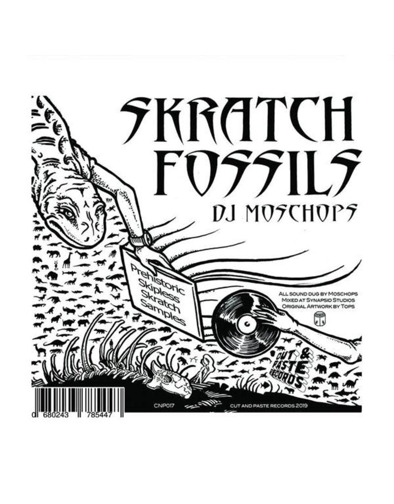 Skratch Fossils 7inch  DJ Moschops Scratch Samples