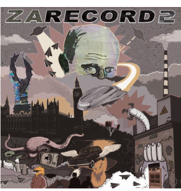 "Cut & Paste Zarecord 2: NMCP Studio 7"" Scratch Record - Cut & Paste Records"
