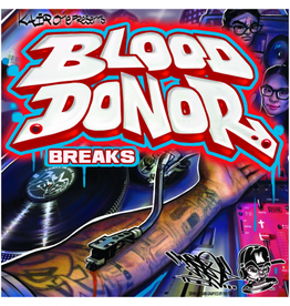 """Kair One: Blood Donor Breaks 7"""" Scratch Record"""