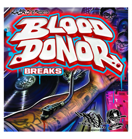 "Kair One: Blood Donor Breaks 7"" Scratch Record"