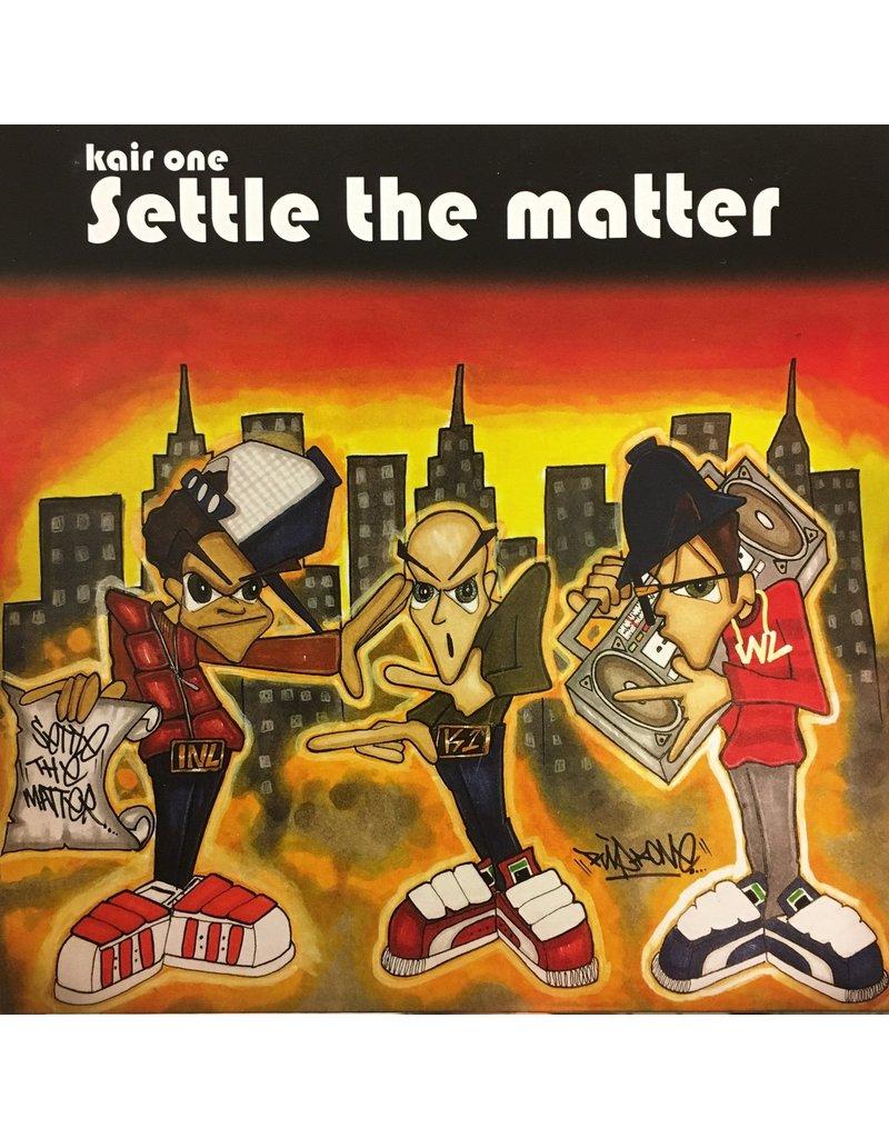 "Kair One: Settle The Matter 7"" Scratch Record"