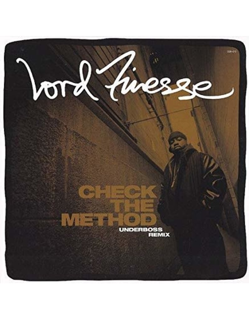 Lord Finesse Check the Method White Promo Copy 12 inch