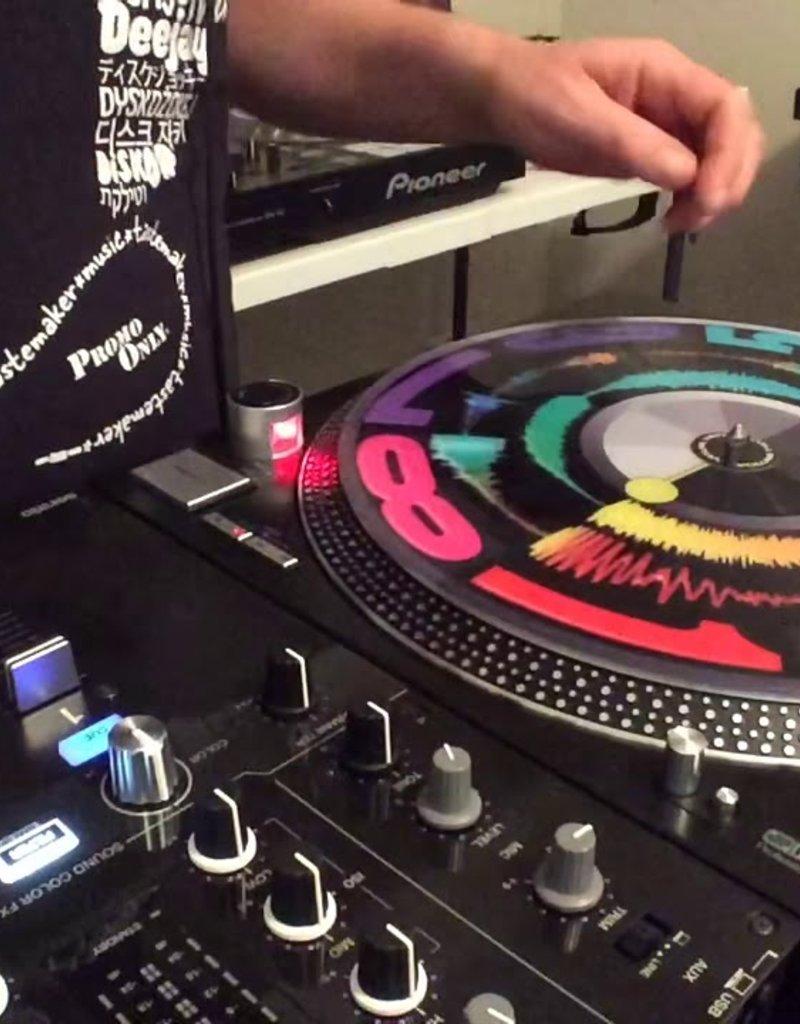 """Visual Vinyl Vol. 2:  12"""" BLACK Scratch Record"""