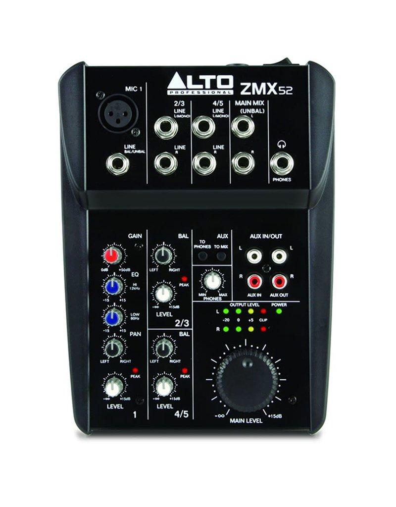 Alto ZMX52 5 Channel Mixer