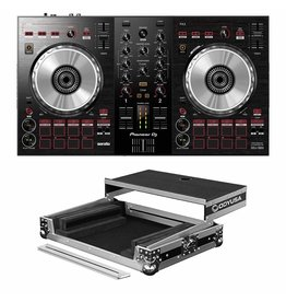 Pioneer DJ DDJ-SB3 2- channel DJ Controller and Odyssey Case Package