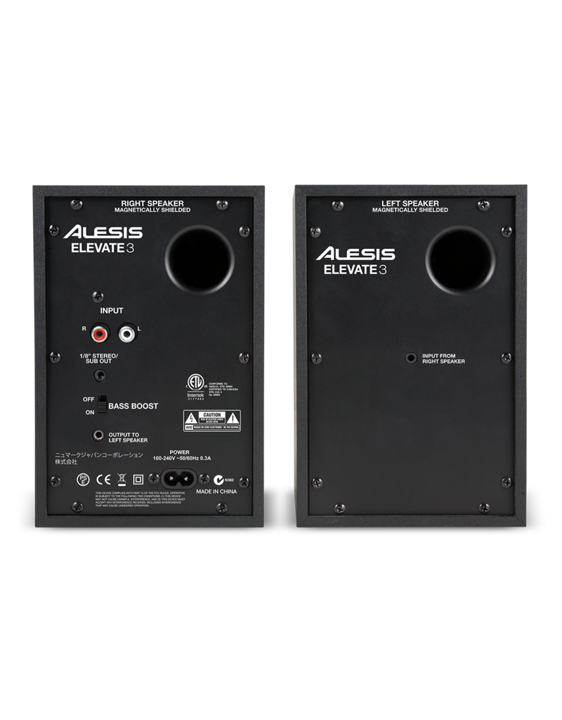 Elevate 3 MKII Powered Desktop Studio Speakers (pair): Alesis