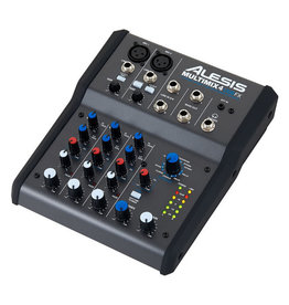 ***Limited Stock Shipping August*** Alesis MultiMix 4 USB FX 4-Channel Mixer with Effects & USB Audio Interface