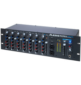 Alesis MultiMix 10 Wireless 10 Channel Rackmount Mixer w/ Bluetooth Wireless