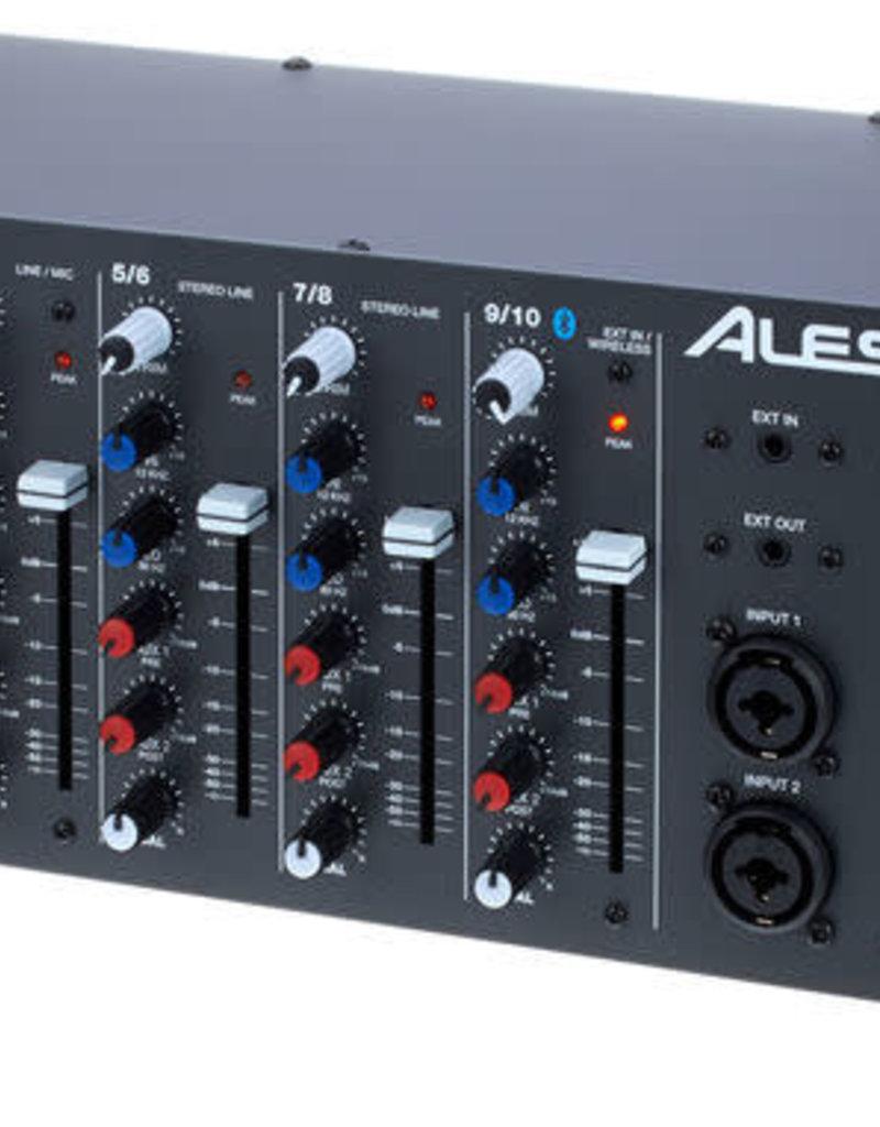 Alesis MultiMix 10 Wireless 10 Channel Rackmount Mixer w/ Bluetooth Wireless