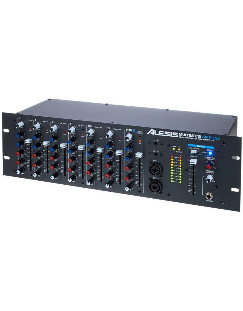 MultiMix 10 Wireless Rack Mixer: Alesis