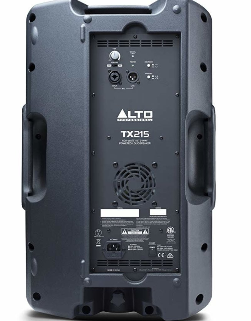"TX215 600-Watt 15"" 2-Way Powered Speaker: Alto"