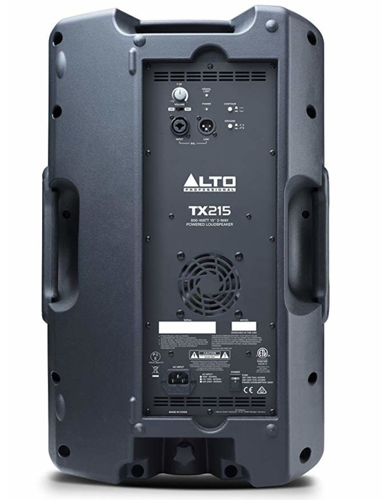"TX215 600-Watt 15"" 2-Way Powered Speaker: Alto"