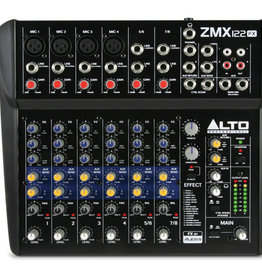 ***Limited Stock Shipping In August*** Zephyr ZMX122FX 8-Channel Mixer with Effects - Alto Professional