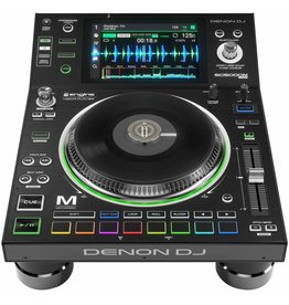 "Denon SC5000M Prime Media Controller w/ Motorized Platter | Engine Media Player with 7"" Multi-Touch Display"